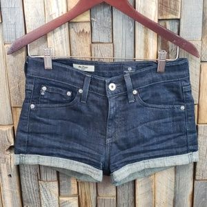 Adriano Goldschmied womans Jean shorts size 25